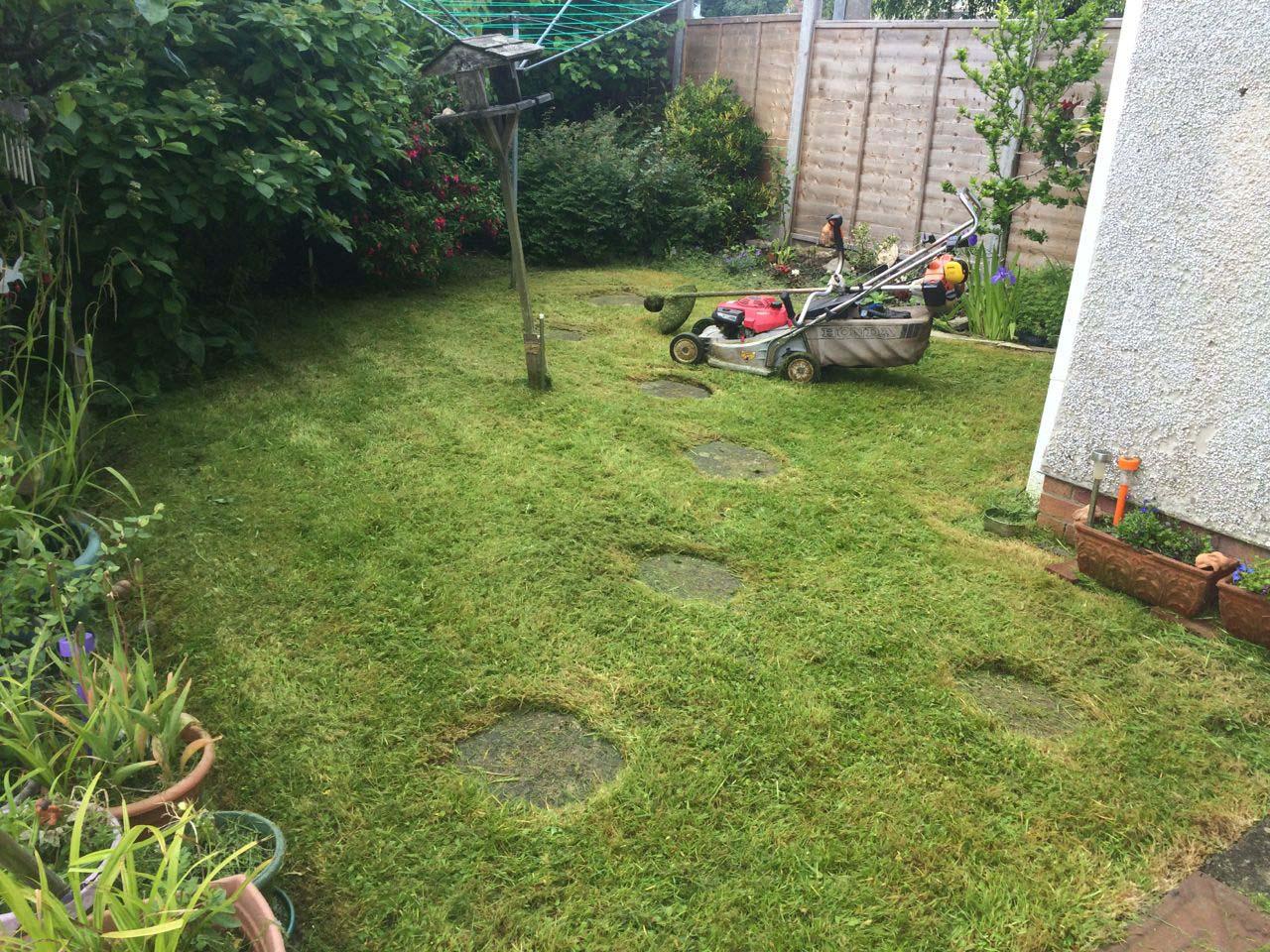 Grass Cutting Weston Super Mare After