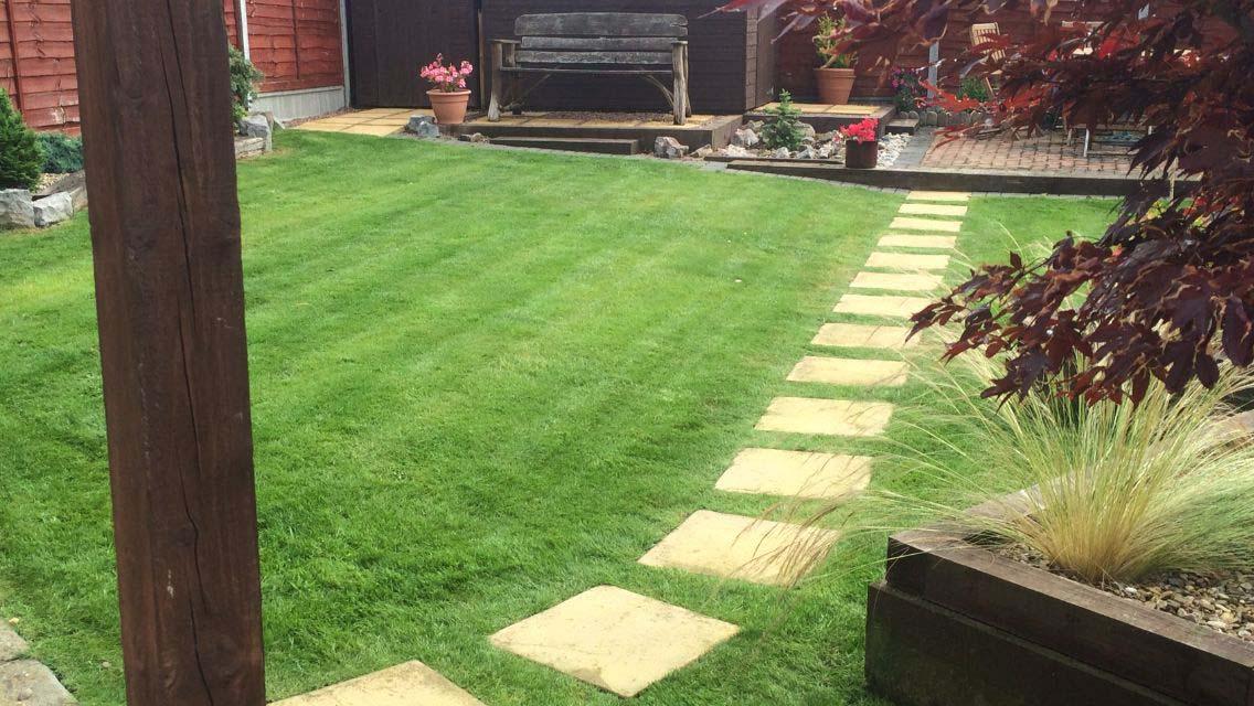 Regular grass cutting service